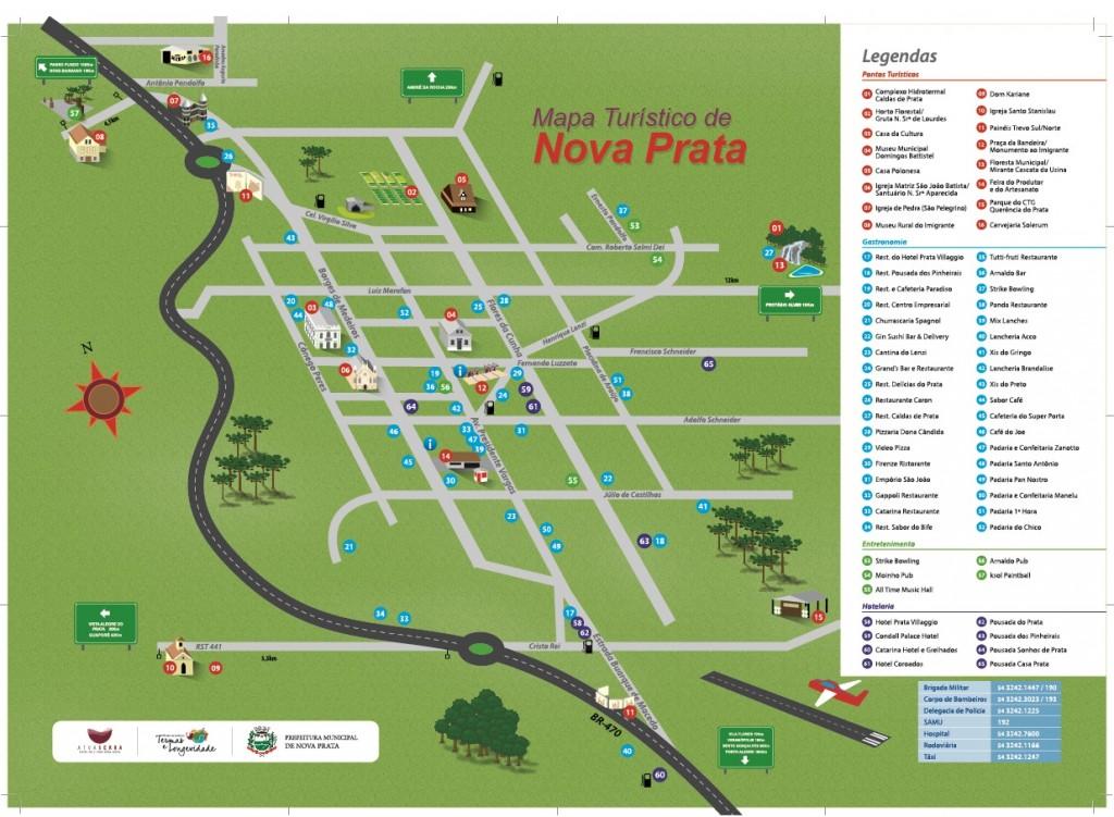Atuaserra - Mapa Nova Prata outubro 2015