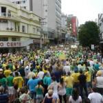 Cidades da região fizeram suas manifestações.