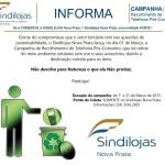 Sindilojas lança campanha: Recolhimento de Telefonia Pós-Consumo!