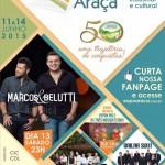 Expo Araçá acontecerá nos dias 11 a 14/06 no Parque de eventos em Nova Araçá.